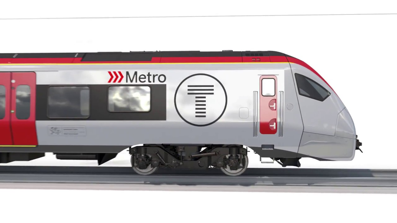 Keolis Amey: New Trains (Stadler)