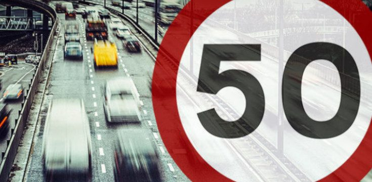 Temporary 50mph Limits To Be Made Permanent In Five Areas