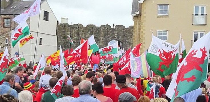 Further Marches Held In Support Of Welsh Independence